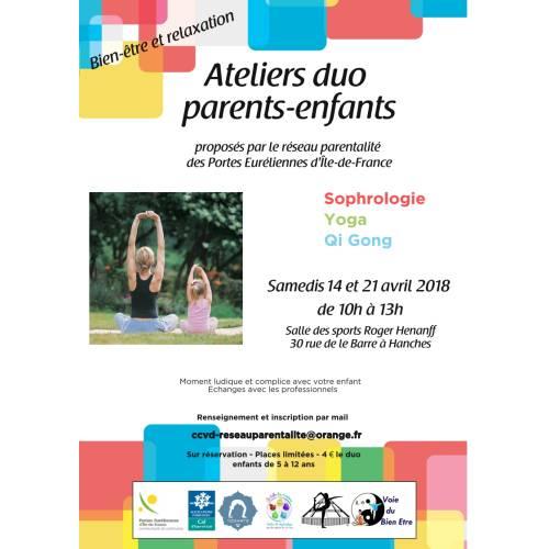 Ateliers Duo parents-enfants