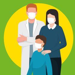 Garde d'enfants de soignants