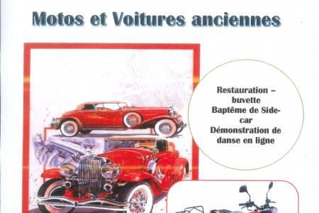 EXPOSITION AUTOS MOTOS ANCIENNES