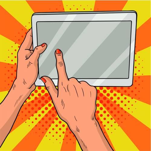 La plus grande tablette numérique du monde !