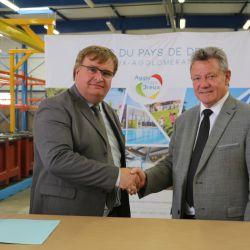 Signature du contrat Territoire d'Industrie